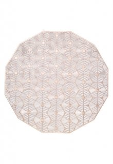 Tablemat, Rose Gold